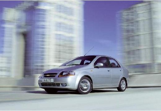 CHEVROLET Aveo I sedan silver grey przedni lewy