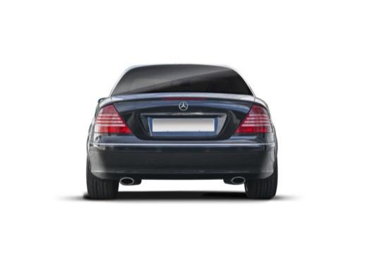MERCEDES-BENZ Klasa CL coupe tylny