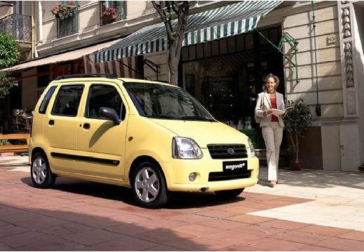 SUZUKI Wagon R+ II hatchback żółty przedni prawy