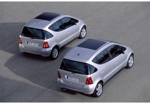 MERCEDES-BENZ Klasa A W 168 II hatchback silver grey tylny prawy