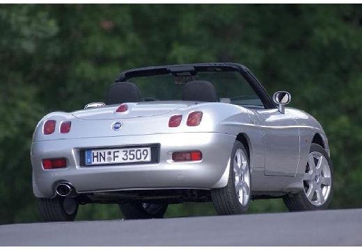 FIAT Barchetta kabriolet silver grey tylny prawy