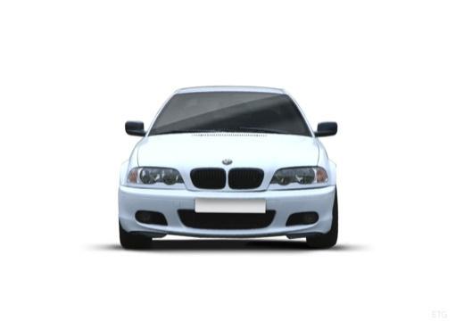 BMW Seria 3 coupe biały przedni