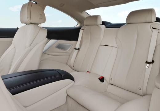 BMW Seria 6 F13 I coupe wnętrze