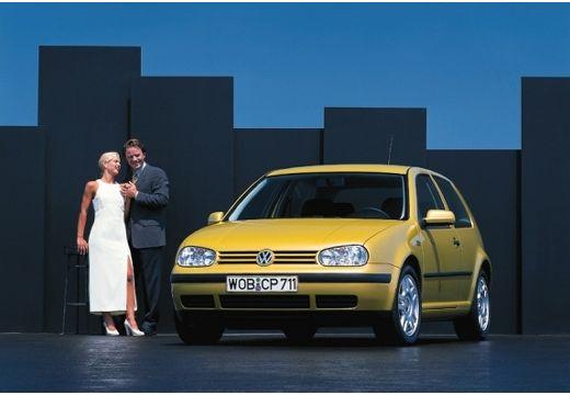 VOLKSWAGEN Golf hatchback żółty przedni lewy