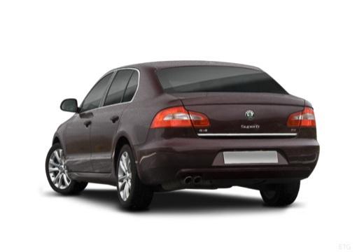 SKODA Superb III hatchback tylny lewy