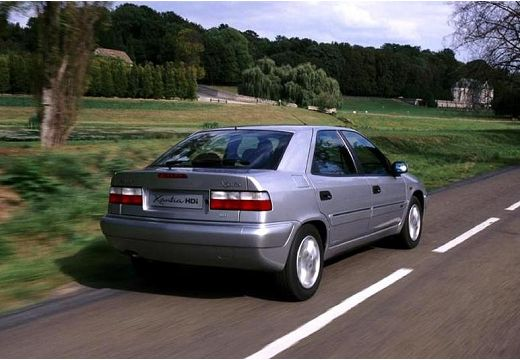 CITROEN Xantia II hatchback silver grey tylny prawy