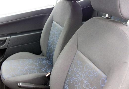 FORD Fiesta VI hatchback biały wnętrze