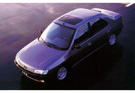 PEUGEOT 306 I sedan przedni lewy