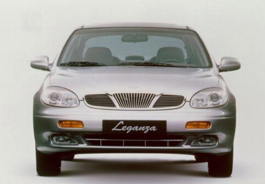 DAEWOO / FSO Leganza I sedan silver grey przedni