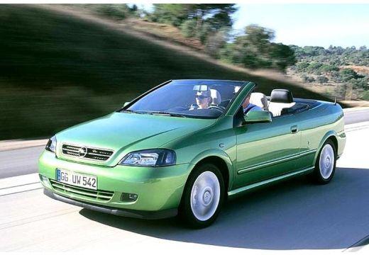 OPEL Astra kabriolet zielony przedni lewy