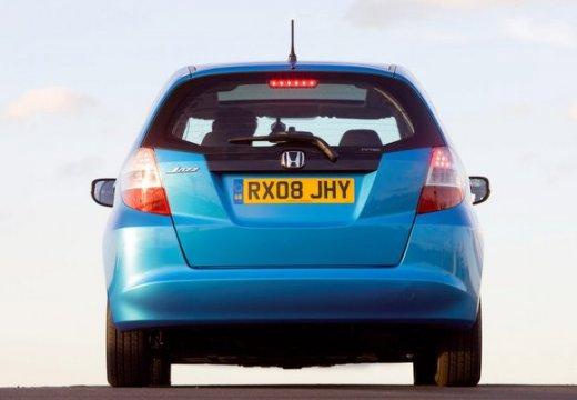 HONDA Jazz II hatchback niebieski jasny tylny