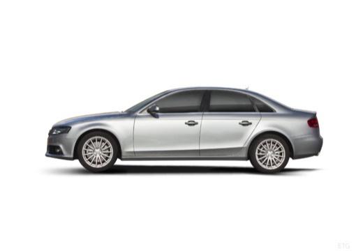 AUDI A4 B8 I sedan silver grey boczny lewy