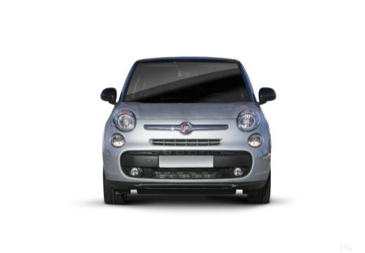 FIAT 500 L Living kombi silver grey przedni
