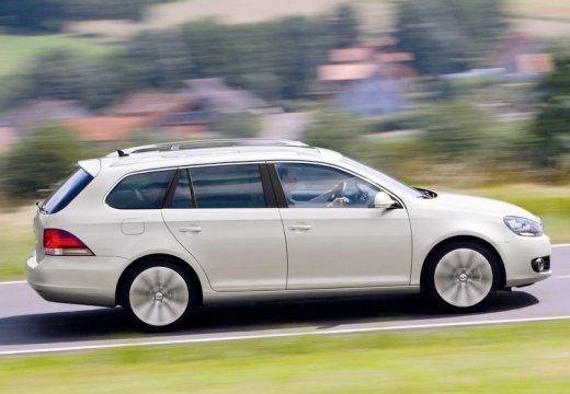 VOLKSWAGEN Golf VI Variant kombi silver grey boczny prawy