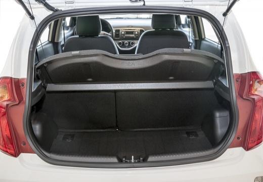 KIA Picanto IV hatchback przestrzeń załadunkowa