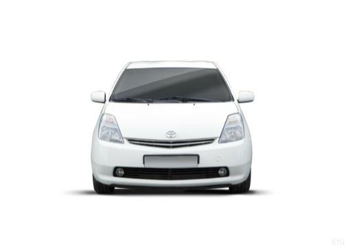 Toyota Prius I hatchback biały przedni
