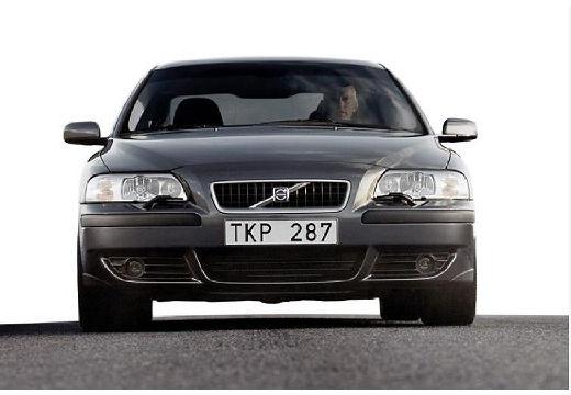 VOLVO S60 I sedan szary ciemny przedni