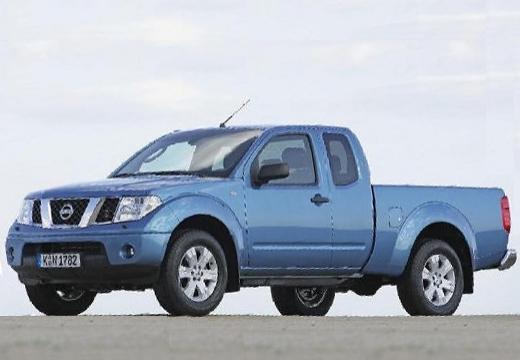 NISSAN Navara II pickup niebieski jasny