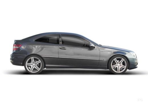 MERCEDES-BENZ Klasa CLC coupe szary ciemny boczny prawy