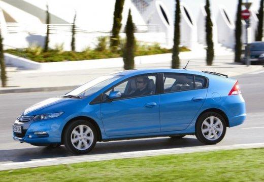 HONDA Insight hatchback niebieski jasny przedni lewy