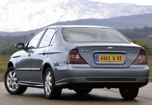 CHEVROLET Evanda sedan silver grey tylny lewy