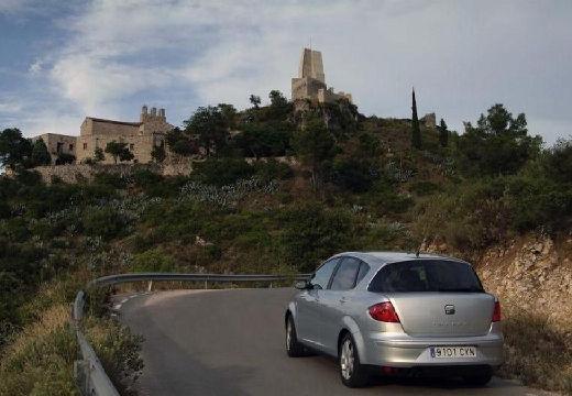 SEAT Toledo hatchback silver grey tylny lewy