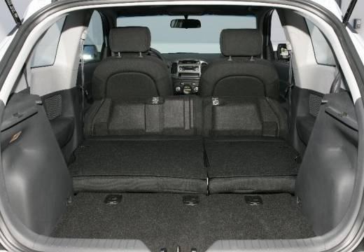 HYUNDAI Accent IV hatchback przestrzeń załadunkowa