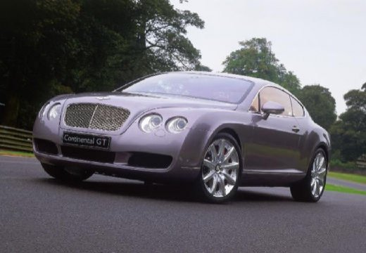 BENTLEY Continental GT I coupe silver grey