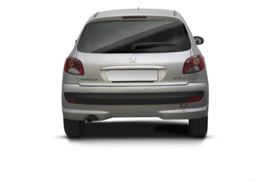 PEUGEOT 206+ I hatchback tylny