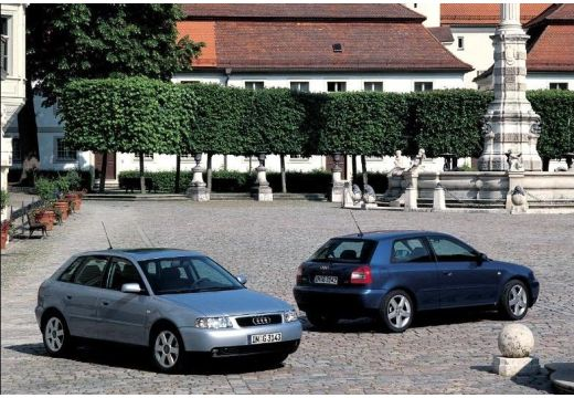 AUDI A3 1.8T Quattro Attraction Hatchback /S3 8L II 180KM (benzyna)