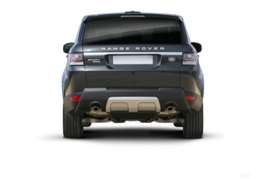 LAND ROVER Range Rover Sport IV kombi czarny tylny