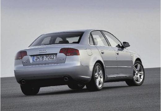 AUDI A4 8E II sedan silver grey tylny prawy