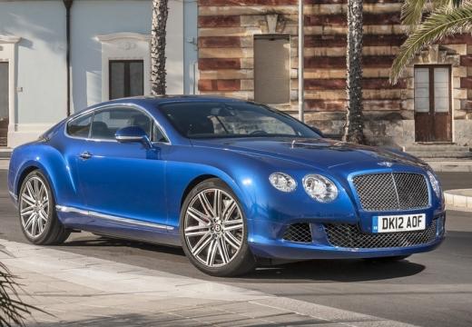 BENTLEY Continental coupe niebieski jasny