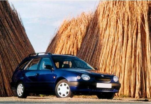 Toyota Corolla III kombi niebieski jasny przedni prawy