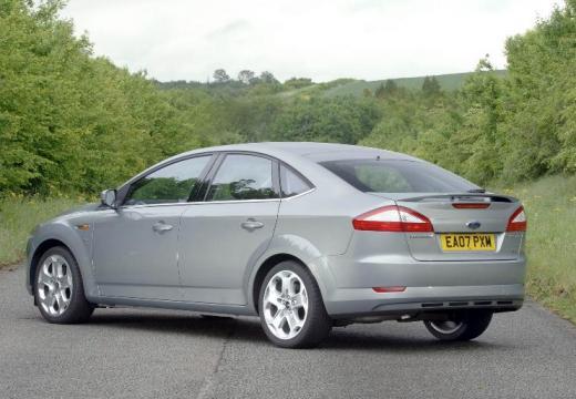 FORD Mondeo VI hatchback silver grey tylny lewy