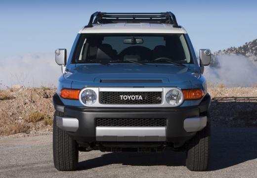 Toyota FJ Cruiser kombi niebieski jasny przedni