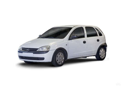 OPEL Corsa C II hatchback biały