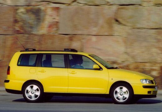 SEAT Cordoba Vario II kombi żółty boczny prawy