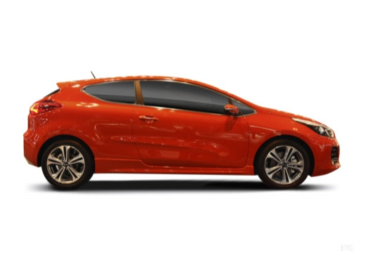 KIA Ceed Proceed V hatchback boczny prawy