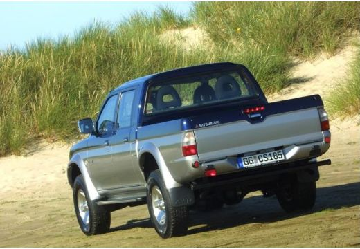 MITSUBISHI L 200 I pickup niebieski jasny tylny lewy
