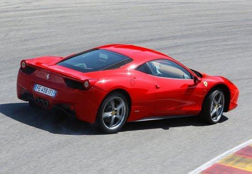 FERRARI 458 I coupe czerwony jasny tylny prawy