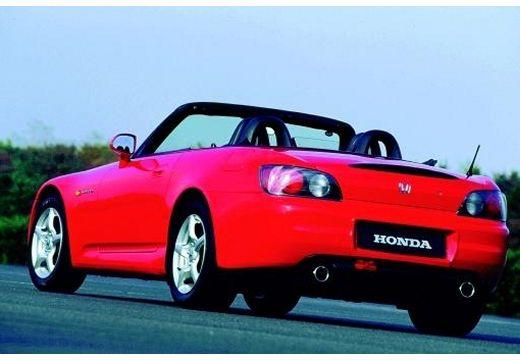HONDA S 2000 roadster czerwony jasny tylny lewy