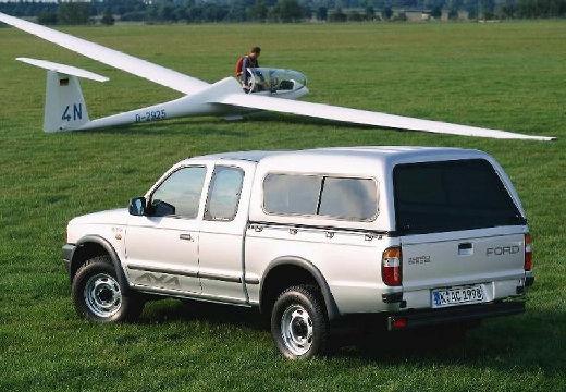 FORD Ranger pickup biały tylny lewy
