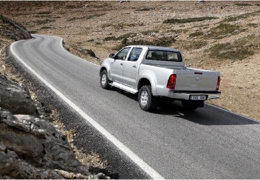Toyota HiLux III pickup silver grey tylny lewy