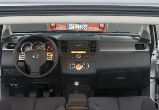 NISSAN Tiida II hatchback silver grey tablica rozdzielcza