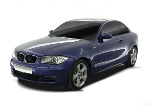 BMW Seria 1 E82 I coupe niebieski jasny