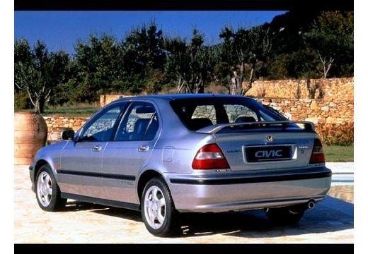 HONDA Civic hatchback silver grey tylny lewy