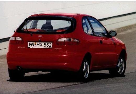 DAEWOO / FSO Lanos hatchback czerwony jasny tylny prawy