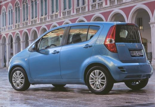 SUZUKI Splash II hatchback niebieski jasny tylny lewy