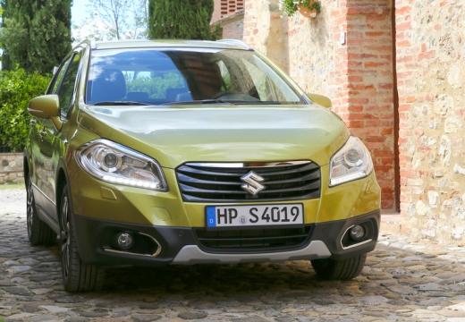 SUZUKI SX4 S-cross I hatchback złoty przedni prawy